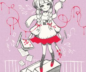 yume nikki, game, and madotsuki image