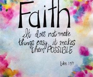 faith, god, and jesus image