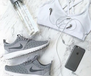 iphone, nike, and sport image