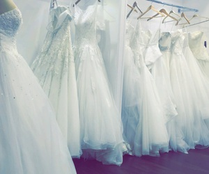bride, brides, and dress image