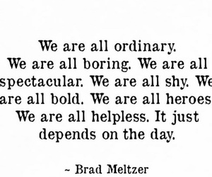 quote and brad meltzer image