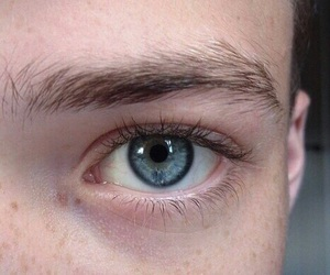blue, eyes, and pale image