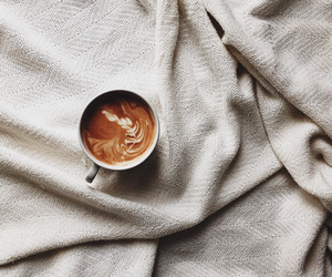 coffee and bed image