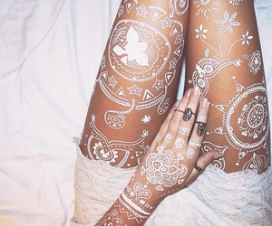 henna, beauty, and style image