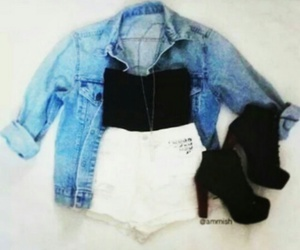 fashion, clothes, and boots image