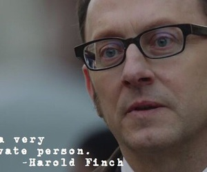 harold finch, poi, and love image