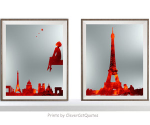etsy, france, and french art image