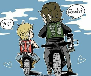 reedus, the walking dead, and daryl dixon image