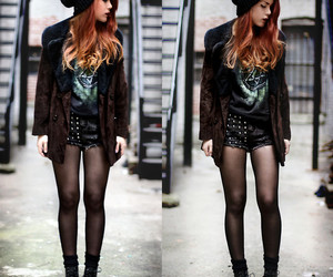 black, boots, and lookbook image