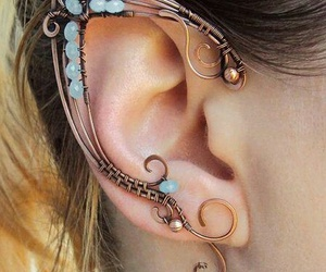 accessories, cuffs, and earrings image