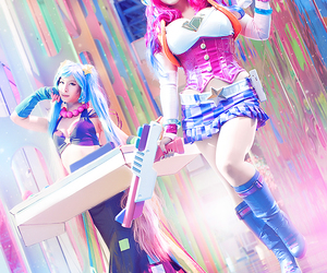 arcade, cosplay, and lol image