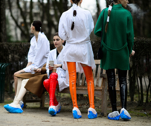 fashion, fashion week, and mode image