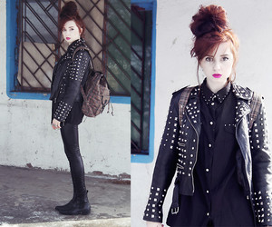 blood, fashion, and girl image