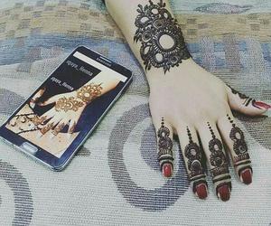 designs, henna, and arabic henna designs image