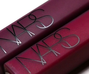 gloss, makeup, and bordeaux image