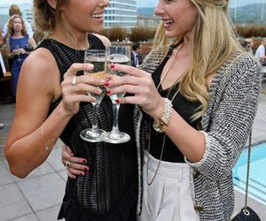 beautiful, lo bosworth, and champagne image