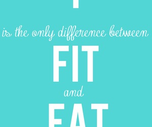 fit, fat, and quote image