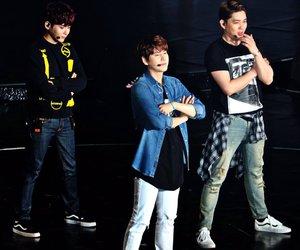 kyuhyun, ryeowook, and SJ image