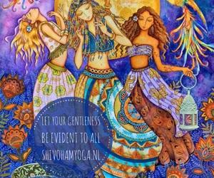 happy, indigo, and inspirational image