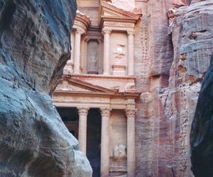 adventure, ancient, and jordan image