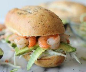 food, sandwich, and savory image