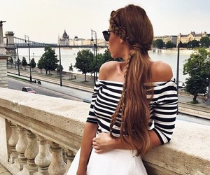 beauty, brunette, and europe image
