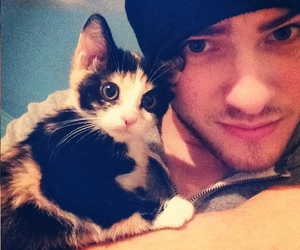 cody christian and cat image