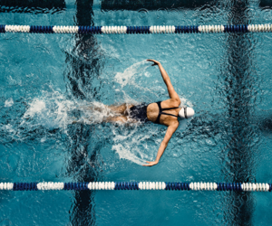 swimming and sport image