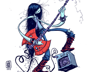 marceline, adventure time, and skottie young image