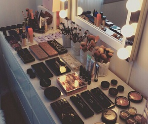 beauty, champagne, and cosmetics image
