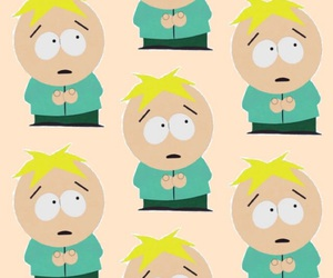 bubbles, pattern, and South park image
