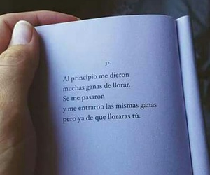 love, frases, and cry image