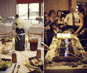 centerpiece, wedding, and reception image