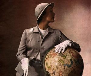 fashion, safari, and vintage image