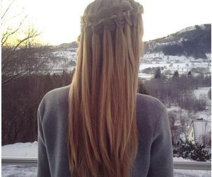 fashion, hair, and hair style image