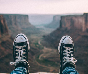 converse, travel, and shoes image