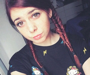 braid, hair, and hipster image