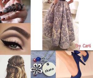 amo, dress, and montagem image