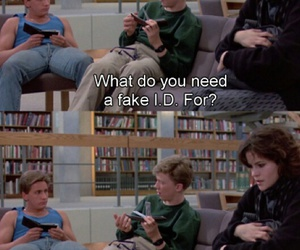 The Breakfast Club and fake id image