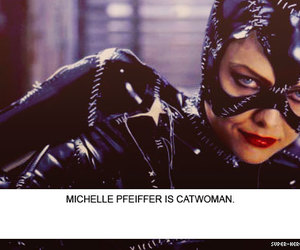 catwoman, michelle pfeiffer, and movie image