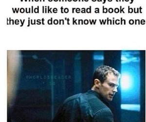 book, divergent, and funny image