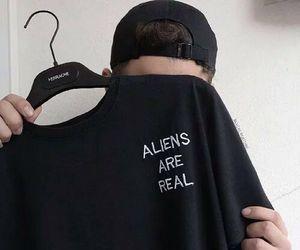grunge, alien, and black image