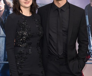 theo james, allegiant, and Shailene Woodley image