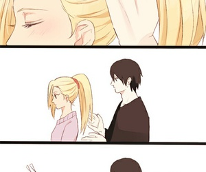 sai, anime, and ino image