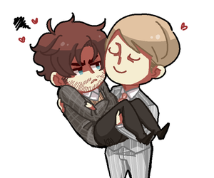 fanart, hannibal, and hugh dancy image