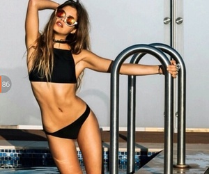 summer, girl, and fit image