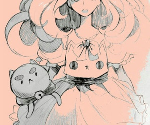 anime, girl, and bee and puppycat image