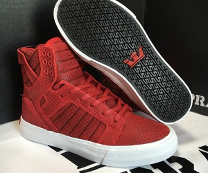 cardinal, sneaker, and fashion image