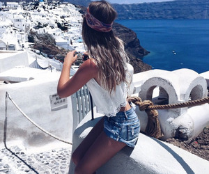 Greece, summer, and travel image