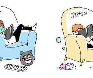 bts, kpop, and jimin image